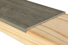 Order Pravol Deck Accessories - Comfort Plus Deck Veneer Gray / delivered right to your door. Deck Stairs, Deck Railings, Deck Skirting, Laying Decking, Deck Makeover, Deck Colors, Concrete Porch, House Deck, New Deck