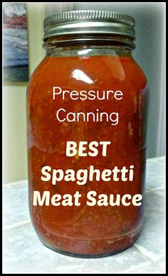 Pressure Canning The BEST Spaghetti Meat Sauce — Greneaux Gardens Pressure Canning The BEST Spaghetti Meat Sauce — Greneaux Gardens Home Canning Recipes, Canning Tips, Cooking Recipes, Tomato Canning Recipes, Meal Recipes, Canning Vegetables, Canning Tomatoes, Canning Vegetable Soups, Homemade Vegetable Soups