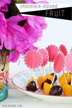 chocolate dipped fruit recipe