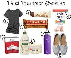 Third Trimester Favorites