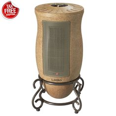 Electric Heater Designer Series Oscillating 1500 W Ceramic Tower Touch-Control #Lasko#electricheater#ceramicheater#portableheater#oscillating#home#homeimprouvment#heating