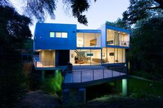 Glass House, Studio City, California, USA by Aaron Neubert Architects, Mike Jacobs Architecture.