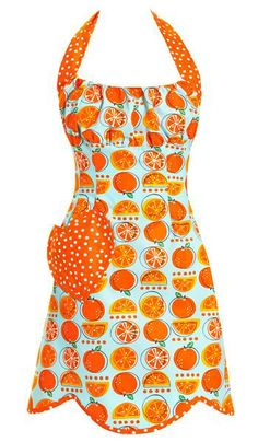 Orange Slice Apron