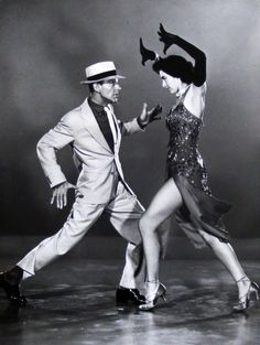 Fred Astaire and Cyd Charisse in 'The Band Wagon',
