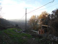 Casas de San Galindo. Afueras en dirección de Padilla de Hita