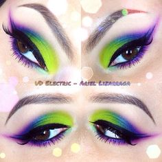 Urban decay electric palette look
