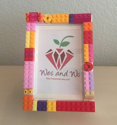 A personal favorite from my Etsy shop https://www.etsy.com/listing/275207976/4x6-picture-frame-with-lego-bricks-free