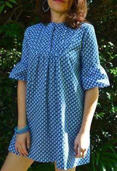 Mia Tunic Pattern now available