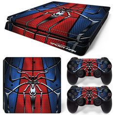 1 x set console skin. Cool Ps4 Controllers, Ps4 Controller Custom, Playstation 2, Playstation 4 Console, Xbox, Coming Home Outfit Boy, Playstation 4 Accessories, Mundo Dos Games, Ps4 Skins