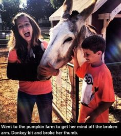 Oooh, nooo!!  Poor girl! And that boy has a minon shirt!