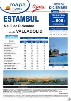 Estambul Puente de Diciembre salida Valladolid 5 Dic. **Precio Final desde 605** - http://zocotours.com/estambul-puente-de-diciembre-salida-valladolid-5-dic-precio-final-desde-605/