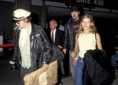 Happy Birthday Kate Moss!! We're celebrating the icons 41st birthday with a round up of 25 incredible rare photos you've probably never seen. // Los Angeles International Airport