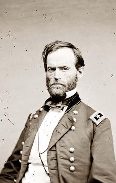 William Tecumseh Sherman, one of the most ruthless of Yankee generals in the Civil War. I have relatives who to this day refuse to buy a lawnmower powered by a Tecumseh motor.