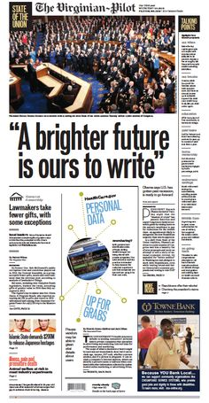 The Virginian-Pilot front page for Wednesday, January 21, 2015.
