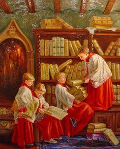 José Lull — Consultando libros (480×595)