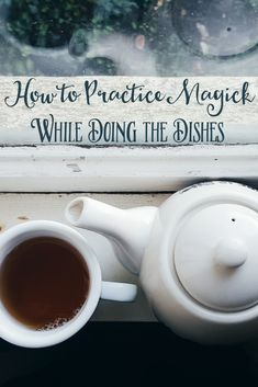 modern witch A video post sharing three ways to incorporate magick into the most mundane activities, such as doing the dishes. Magick Spells, Wicca Witchcraft, Traditional Witchcraft, Witchcraft For Beginners, Eclectic Witch, Kitchen Witchery, Witch Spell, Modern Witch, Book Of Shadows