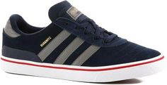 Adidas Men's Busenitz Vulc Adv Shoes - Collegiate Navy/Solid Grey/Footwear White