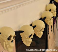 I am ready to start thinking about Halloween and anytime I can pick up decorations at the dollar store means I can get more decor for less money! This is an ea…