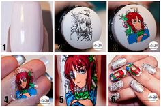 Nailpolis Museum of Nail Art | Advanced stamping tutorial by Diana Livesay