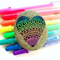 Tips and Supplies for Doodling on Rocks