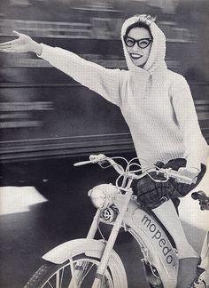 Vogue 1955....cashmere sweater