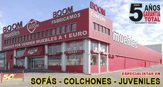 TIENDA DE MUEBLES BOOM en SALAMANCA CTRA. VALLADOLID 58 (Polígono Los Villares) SALAMANCA