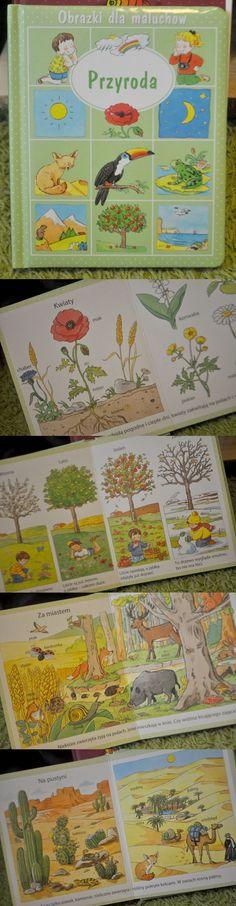 Tytuł: Obrazki dla maluchów. Przyroda  Tekst: Émilie Beaumont  Ilustracje: Sylvie Michelet