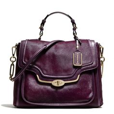 The Madison Sadie Flap Satchel In Mixed Haircalf from Coach