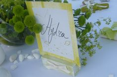 """Premium """"art de la table"""" with handwritten table details by Chirography Welcome Table, Table Signs, Islands, Concept, Inspired, Detail, Frame, Summer, Inspiration"""