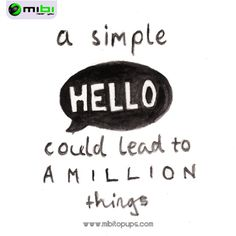 Hello! In Mibi, we want you to smile, we want to motivate you to get everything that you want and doing your life more easy Know us! www.mibitopups.com Mibi, Near you!