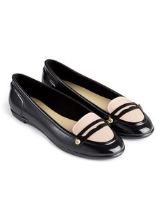 HUNTER, EVELYNN (Black/Camel) 14,700 yen - made by rubber, a perfect pair of shoes for the rain -