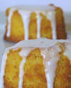Glutenvrije Citroen Polenta Cupcake