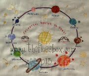 The Floss Box | The Planets Embroidery