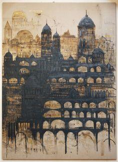 Piero Pizzi Cannella(Italian, b.1955) Cattedrale