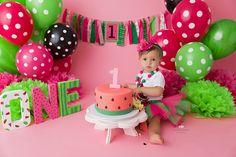 First Birthday Smoker Cooking smoker cooking ideas Birthday Cake Smash, First Birthday Cakes, First Birthday Parties, First Birthday Pictures, Baby Girl First Birthday, First Birthday Decorations, Birthday Ideas, Watermelon Birthday Parties, 1st Birthdays