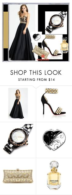 """Snapmade #7"" by s-o-polyvore ❤ liked on Polyvore featuring Madison James, Christian Louboutin and Roberto Cavalli"