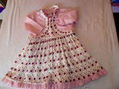 vestido Bebê feliz