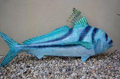 Claudia Sorensen's Paper Mache Fish | Just another WordPress.com site
