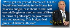 How the Budget Deal Paves the Way for President Hillary Rodham Clinton - The Rush Limbaugh Show