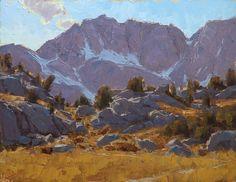 Along the Mono Pass Trail by Jean LeGassick Oil ~ 11 x 14