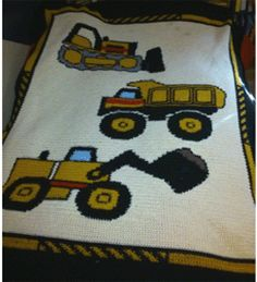 BOYS AND GIRLS BEDROOM CROCHET PATTERN GRAPHS PAGE 1