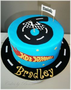 hot wheels cake , car cake, **Cakes by Bonnie**