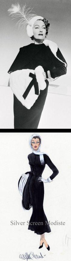 Gloria Swanson in 'Sunset Boulevard' (1950). Costume Designer: Edith Head