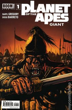 Planet of the Apes Giant (2013 Boom) 1 comics movie book cover film sci-fi