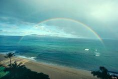 Hawaiian Island Rainbow Maui Voted Best Island In The World... And Has Been For The Last 20 Years