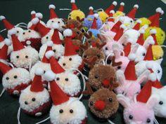 ボンボンクラフトでクリスマス:『みんなの店』in 風の家 diy inspiration
