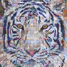 Painting: Pop Art Archives Chuck Close, Art Archive, Pop Art, Moose Art, Painting, Animals, Animales, Animaux, Painting Art