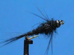 Fly Tying for Beginners a Basic Black Beadhead with Jim Misiura - YouTube