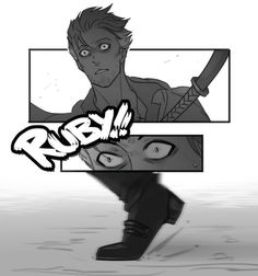 my alternative take on chapter 11 Rwby Anime, Rwby Fanart, Rwby Qrow, Qrow Branwen, Rooster Teeth, Art Sketches, Cyberpunk, Animation, Fan Art