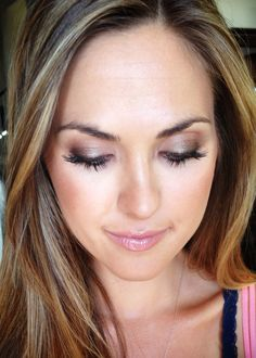 Sultry bronzed lids + sexy lashes and flawless airbrushed skin Happy Girls, Wedding Makeup, Wedding Stuff, Lashes, Wedding Decorations, Hair Makeup, Wedding Inspiration, Cook, Wedding Dresses